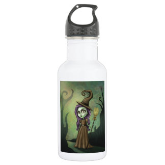 Gothic Steampunk Witch Stainless Steel Water Bottle