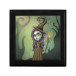 Gothic Steampunk Witch Trinket Boxes