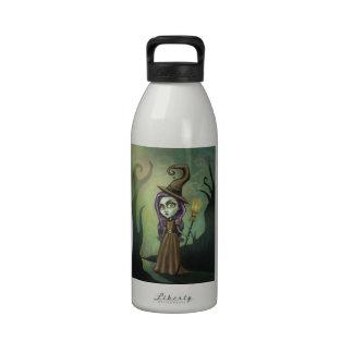 Gothic Steampunk Witch Water Bottles