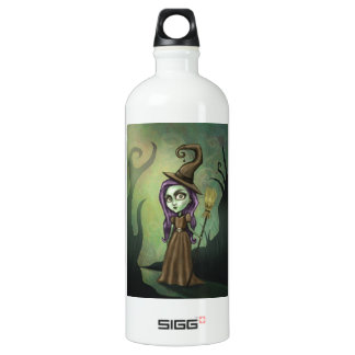 Gothic Steampunk Witch Water Bottle