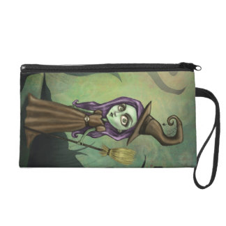 Gothic Steampunk Witch Wristlet