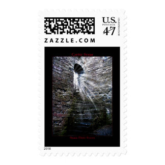 Gothic Steps Postage Stamps