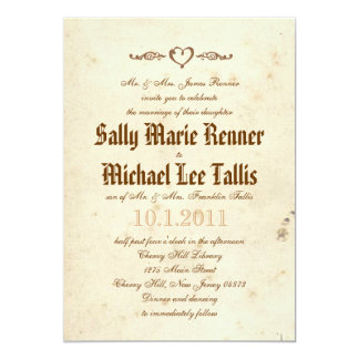 Gothic Storybook Fairytale Invitation