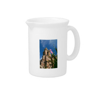 Gothic style chapel beverage pitcher