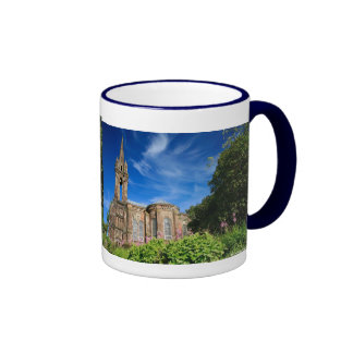 Gothic style chapel in Azores Coffee Mugs