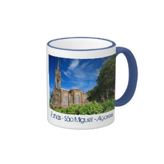 Gothic style chapel in Azores Mugs