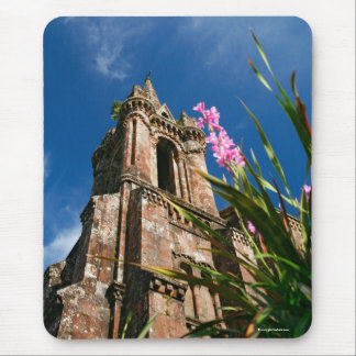 Gothic style chapel mouse pad