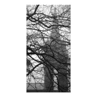 Gothic style chapel photo card