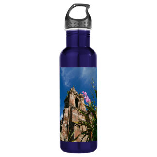 Gothic style chapel stainless steel water bottle