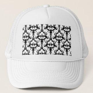 Gothic Style Damask Pattern Trucker Hat