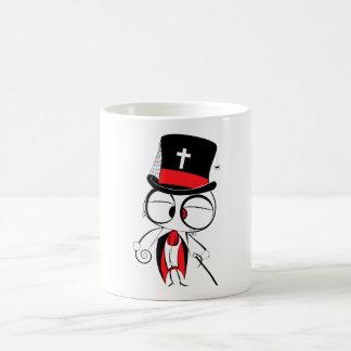 Gothic style doll mug