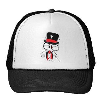 Gothic style doll trucker hat