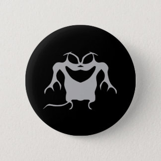 Gothic style Halloween creature Button