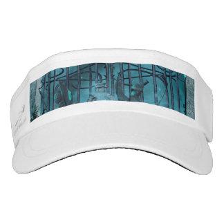 Gothic style headsweats visor
