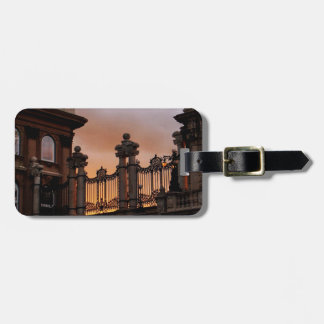 Gothic Sunset in Budapest Bag Tag