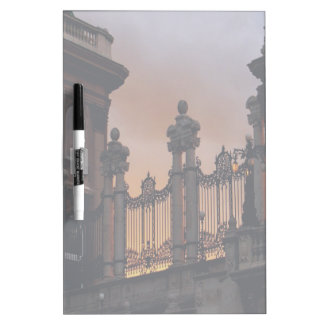 Gothic Sunset in Budapest Dry-Erase Board