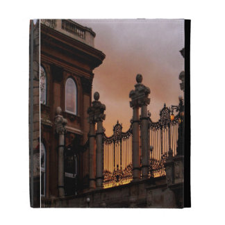 Gothic Sunset in Budapest iPad Case