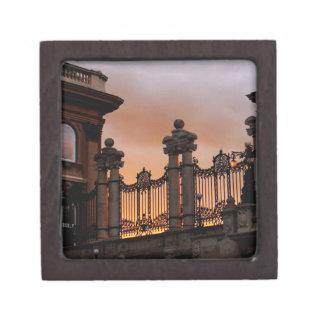Gothic Sunset in Budapest Keepsake Box