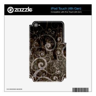 Gothic Swirls Skin For iPod Touch 4G