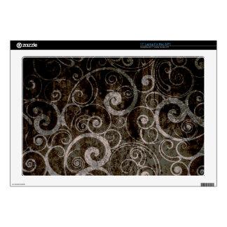 Gothic Swirls Skins For Laptops