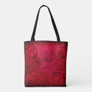 Gothic Swirls Tote Bag