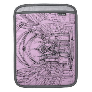 Gothic synagogue in NYC iPad Sleeves