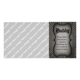 Gothic Text Daddy Card
