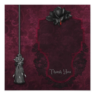 Gothic Thank You Card