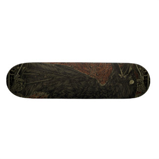 Gothic The Dead Crow Skate Board Deck