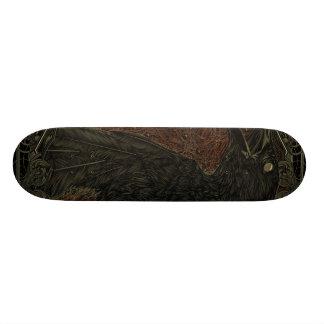 Gothic The Dead Crow Skate Decks