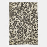 Gothic Thistle Hand Towel