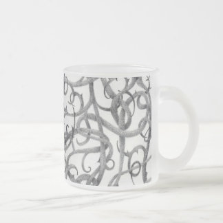 Gothic Thorns Frosted Glass Mug