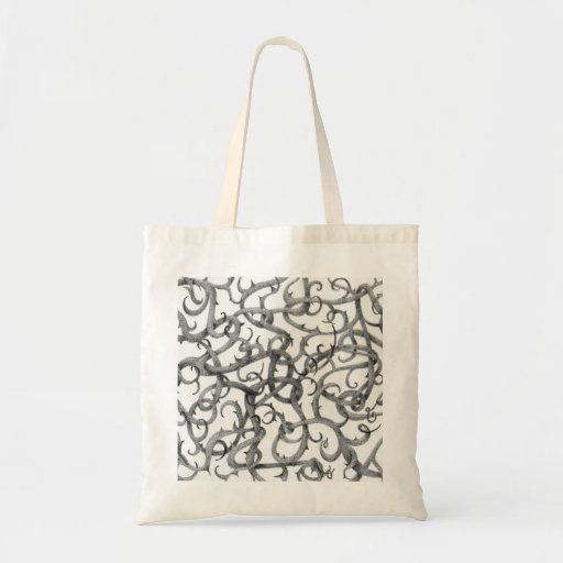 Gothic Thorns Natural Budget Tote Budget Tote Bag