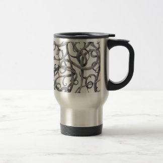 Gothic Thorns Stainless Steel Travel Mug