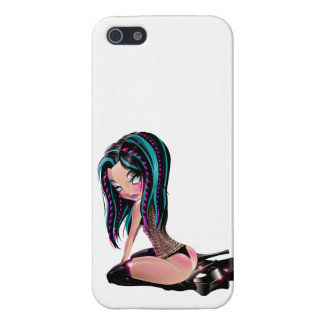 Gothic Tina Cover For iPhone SE/5/5s