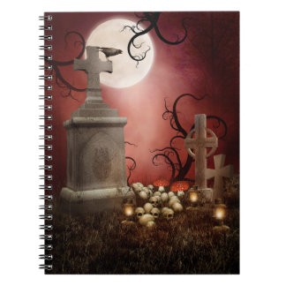 Gothic Tombstone Notebook