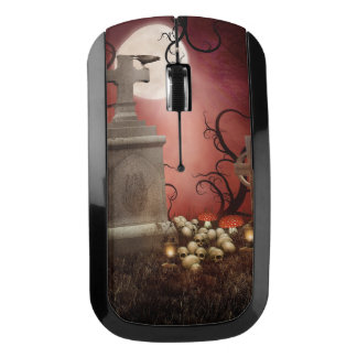 Gothic Tombstone Wireless Mouse