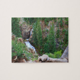 Gothic Trails Waterfall Puzzle