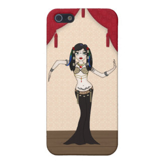 Gothic Tribal Fusion Bellydancer in Stage Scene iPhone SE/5/5s Cover