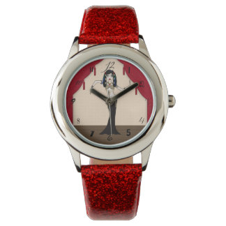 Gothic Tribal Fusion Bellydancer in Stage Scene Watches