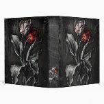 Gothic Tulips Binder