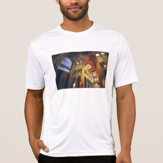 """Gothic Twist"" Notre Dame Cathedral Watercolor Shirts"
