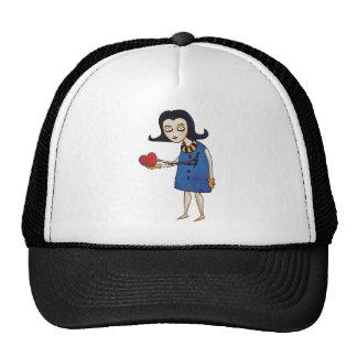 Gothic Valentine Trucker Hat