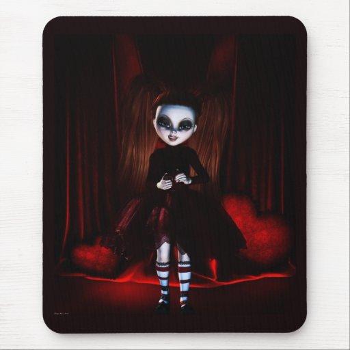 Gothic Valentine Moods (Adoring) - Mousepad