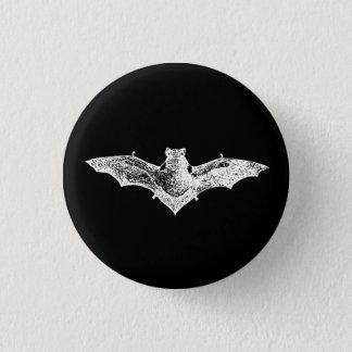 Gothic Vampire Bat Button