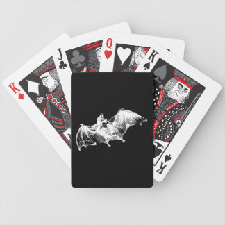 Gothic Vampire Bat Bicycle Playing Cards