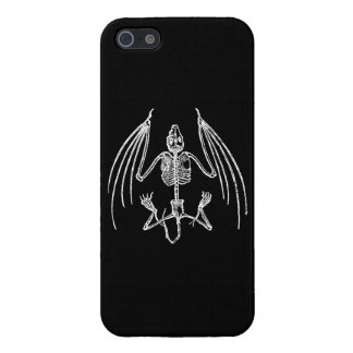 Gothic Vampire Bat Skeleton Cover For iPhone 5