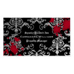 Gothic vampire Halloween Double-Sided Standard Business Cards (Pack Of 100)