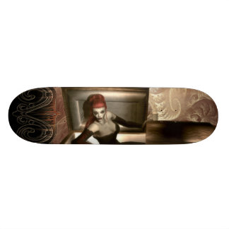 Gothic Vampire Skateboard Deck