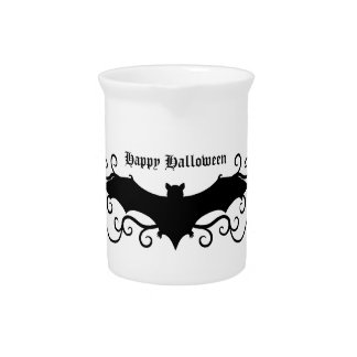 gothic victorian bat beverage pitcher
